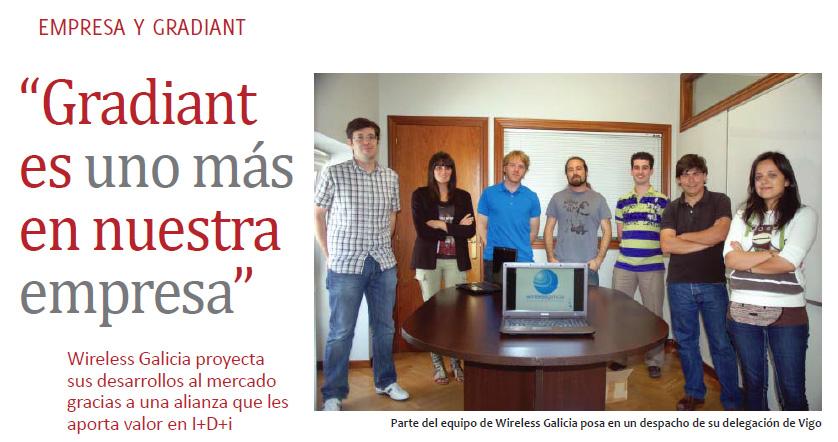 Wireless Galicia boletín Gradiant